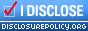 Disclosure Policy Badge